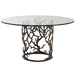 Arteriors Home Furnishings Ursula Dining Table With Natural Iron Finish In Gray