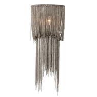 Arteriors Yale Small Sconce Chandelier With Antique Nickel Finish in Gray