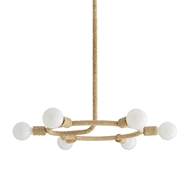 Arteriors Lighting Talulah Chandelier 49296 Abaca