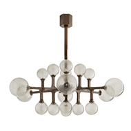 Arteriors Lighting Tricia Chandelier 89332 Steel