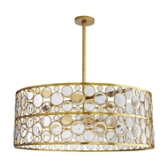 Arteriors Lighting Tripoli Chandelier 89342 Steel