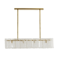 Arteriors Lighting Tripp Chandelier 89338 Steel