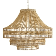 Arteriors Lighting Tulane Chandelier 89335 Wood