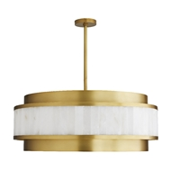Arteriors Lighting Utterson Chandelier 89337 Steel