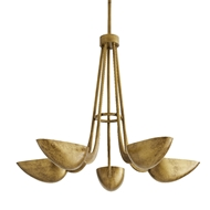 Arteriors Lighting Vader Chandelier 86021 Iron