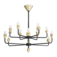 Arteriors Lighting Vandana Chandelier 86020 Iron