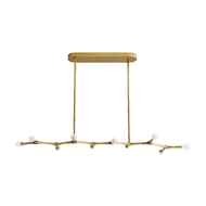 Arteriors Lighting Vanderpool Chandelier 89340 Steel