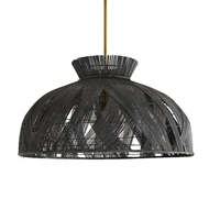 Arteriors Lighting Wester Chandelier 45045 Buri Midrib