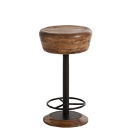 Arteriors Home Caymus Counter Stool 6120 Brown - Wood
