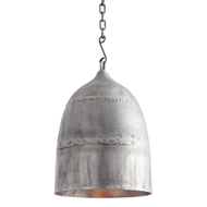 Arteriors Lighting Alaric Pendant 44507 Gray - Aluminum
