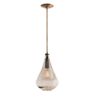 Arteriors Lighting Albert Pendant 44083 Brown - Glass