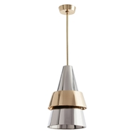 Arteriors Lighting Carletto Pendant 46508 Gray - Stainless Steel