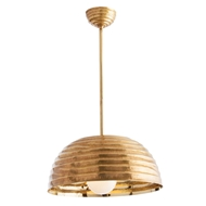 Arteriors Lighting Cullom Pendant 48609 Yellow - Brass