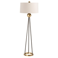Arteriors Lighting Hadley Floor Lamp 79932-769 Black - Steel
