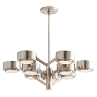 Arteriors Lighting Jalen Chandelier 89000 Gray - Steel