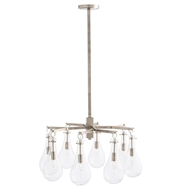 Arteriors Lighting Sabine Chandelier 49012 Gray - Steel