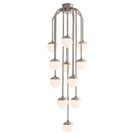 Arteriors Lighting Vincent Fixed Chandelier 89004 Gray - Steel