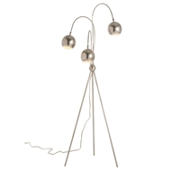 Arteriors Lighting Wade Floor Lamp 79005 Gray - Steel