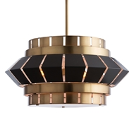 Arteriors Lighting Walt Chandelier 89007 Yellow - Steel