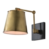Arteriors Lighting Watson Sconce 49020 Black - Steel