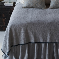 Bella Notte Adele Coverlet in Pebble