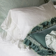 Isabella Embellished Pillowcase : Bella Notte Isabella Fabric Collection
