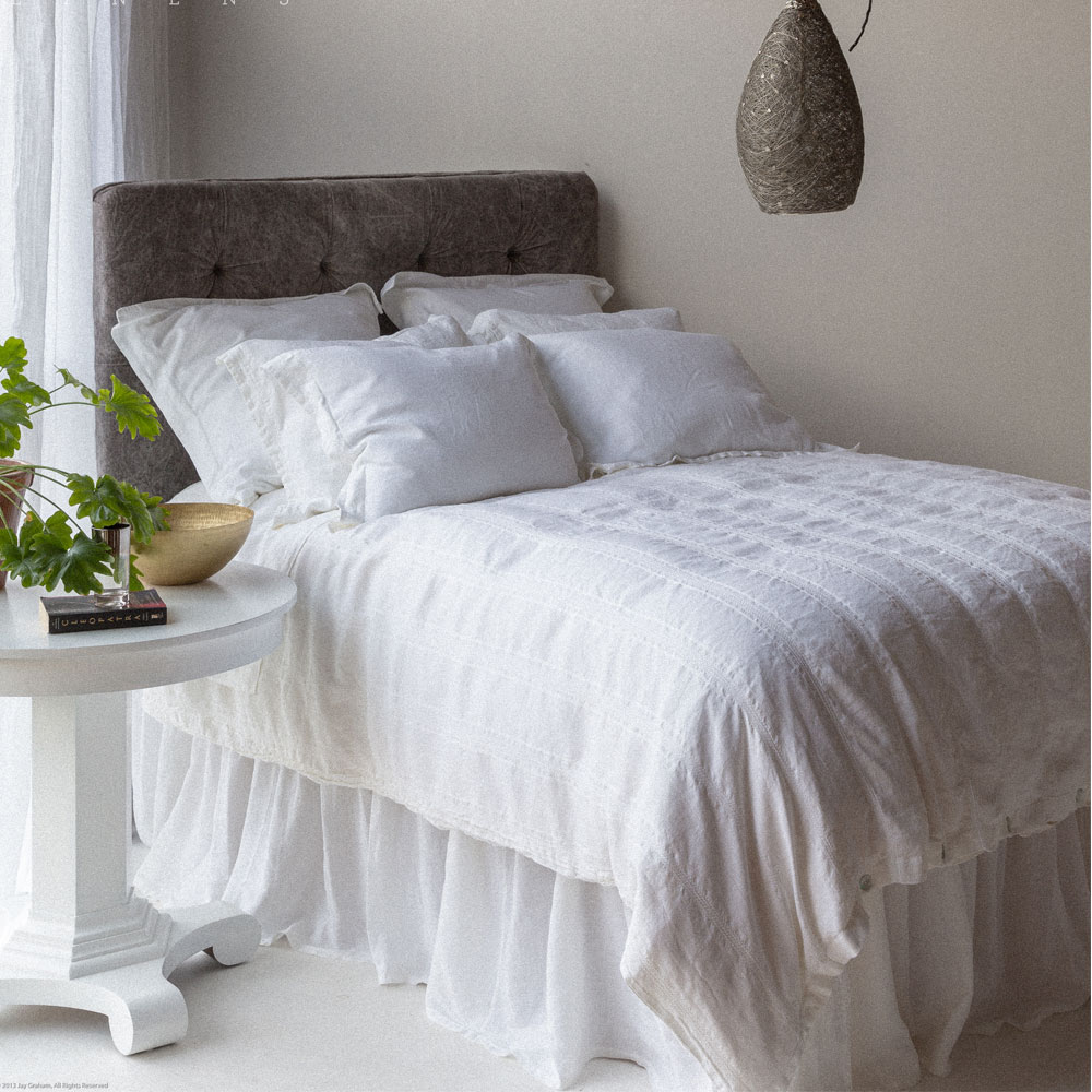 Bella Notte Linen Bed Skirt Quick Ship Qslct50 Free Shipping
