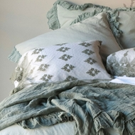 Bella Notte Olivia Embellished Pillowcase