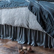 Bella Notte Linens Satin Bed Skirt