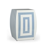 Chelsea House Home Mantis Stool-Bl/Crm 380019