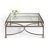 Chelsea House Home Collar Sq Coffee Table
