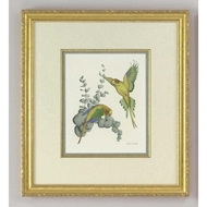 Chelsea House Wall Decor 30-0029A Yellow Parakeets - A 380156