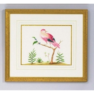 Chelsea House Wall Decor Pink W/ Blue Berries 380290