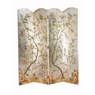Chelsea House Home Yin 4 Panel Screen 380309