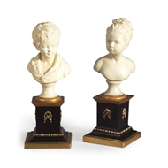 Chelsea House Home Houdon Bust - Pair 380546