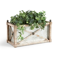 Chelsea House Home Rectangle Mirror Planter