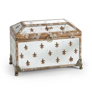 Chelsea House Home Fleur De Lis Mirror Box 380652