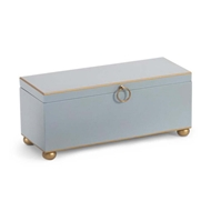 Chelsea House Home Rect Box-Pastel Blue