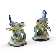 Chelsea House Home Blue Tip Birds-Pair