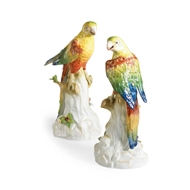 Chelsea House Home Yellow Parakeets-Pair