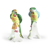 Chelsea House Home Parrot W/Cherries-Pair