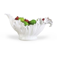 Chelsea House Home Acanthus Leaf Bowl