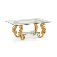 Chelsea House Home Seahorse Coffee Table-Gold