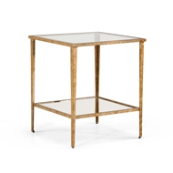 Chelsea House Home Carson End Table Gold 381355