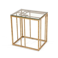 Chelsea House Home Geometric Accent Table