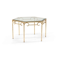 Chelsea House Home Lorenzo Cocktail Table Gold