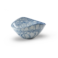 Chelsea House Home Blue Oval Centerpiece