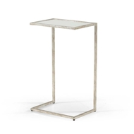 Chelsea House Home Matteson Side Table Silver 381589