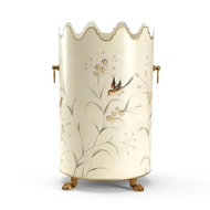 Chelsea House Home Aviary Wastebasket