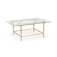 Chelsea House Home Tracery Cocktail Table - Gold